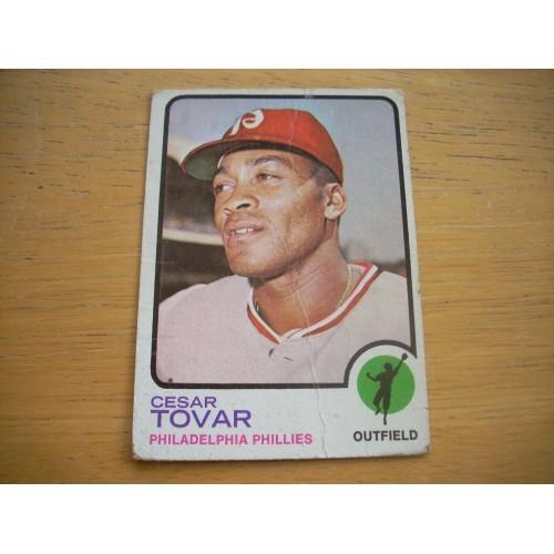 1973 Baseball Card 405 Cesar Tovar Mid Hi # Lower Grade
