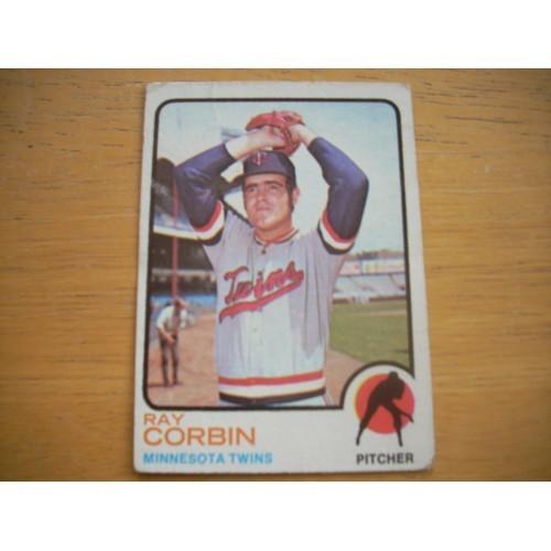1973 Baseball Card 411 Ray Corbin Mid Hi Number Nice Shape