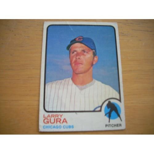 1973 Baseball Card 501 Larry Gura Cubs Mid Hi OK Shape