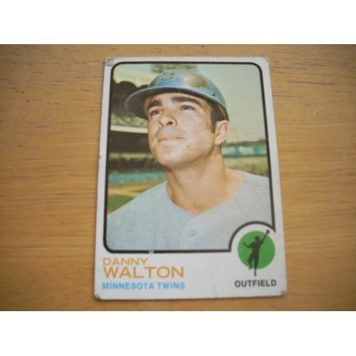 1973 Baseball Card 516 Danny Walton Mid Hi OK Shape