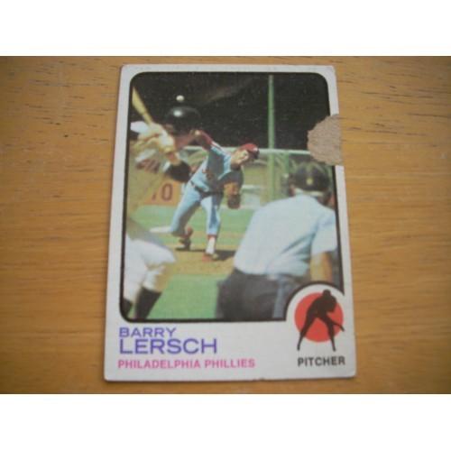 1973 Baseball Card 559 Barry Lersch High Number OK Shape