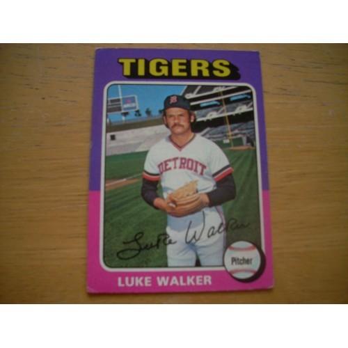 1975 Baseball Card 474 Luke Walker Very Nice Shape
