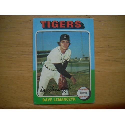1975 Baseball Card 571 Dave Lemanczyk ROOKIE Very Nice Shape