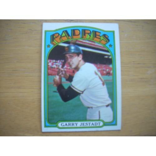 1972 Baseball Card 143 Garry Jestadt Padres Outstanding
