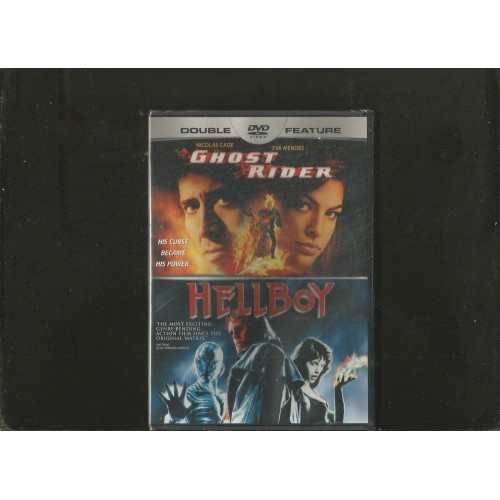 DOUBLE FEATURE: GHOST RIDER/ HELLBOY (DVD) WIDESCREEN
