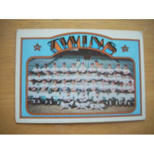 1972 156 Twins Team Rod Carew Harmon Killebrew Nice Shape
