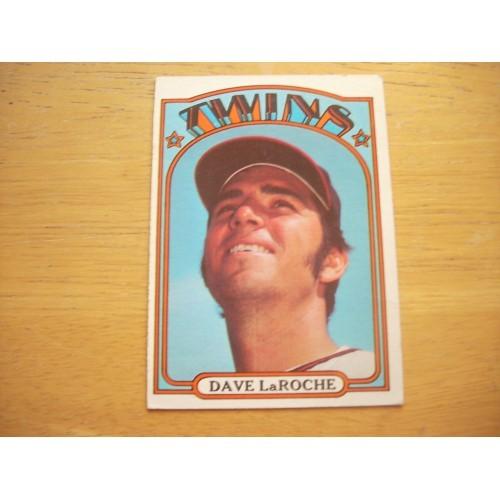 1972 Baseball Card 352 Dave LaRoche Angels Outstanding Shape