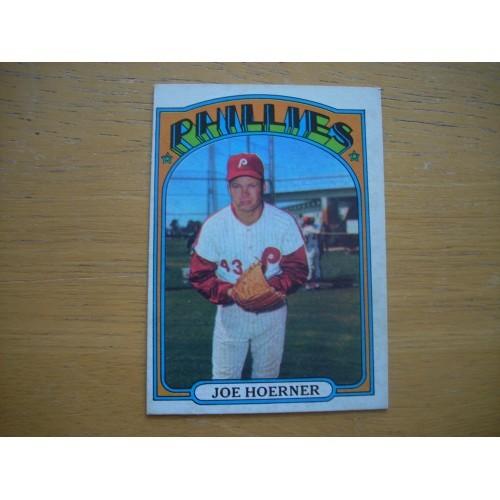 1972 Baseball Card 482 Joe Hoerner Phillies high Grade?