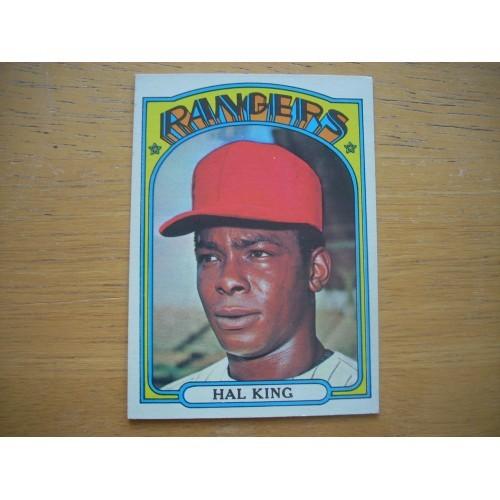 1972 Card 598 Semi Hi Number Hal King Rangers High Grade?