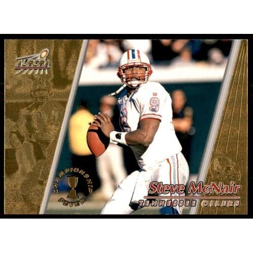 free shipping b7f3b 5ad76 1998 Aurora Championship Fever #49 Steve McNair Tennessee Titans (5622)