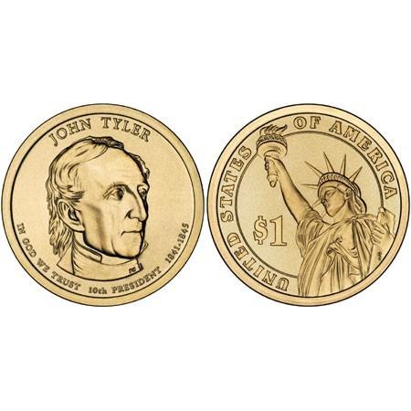 2009-P JOHN TYLER  PRESIDENTIAL DOLLAR COIN