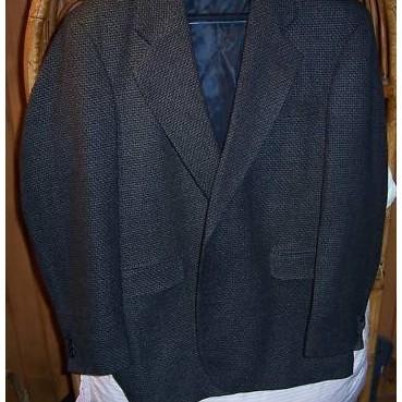 Haggar Mens Sport Coat 44l NWT Originally $160.00