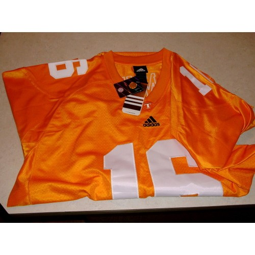 hot sale online b4a19 576be For Sale: FOOTBALL JERSEY UNIVERSITY OF TENNESSEE - #16 PEYTON MANNING -  SIZE 2XL | Webstore
