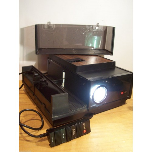Gaf 2680 Slide Projector Editor W Remote Electronics