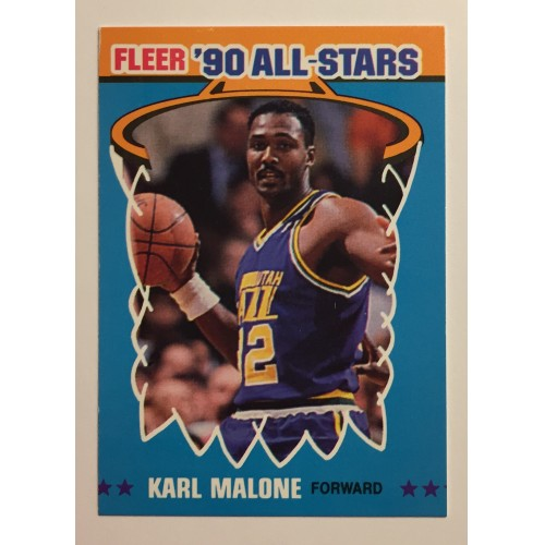 cheaper 91de8 d6fa5 For Sale: 1990-91 Fleer All-Stars - #7 of 12 Karl Malone | Webstore
