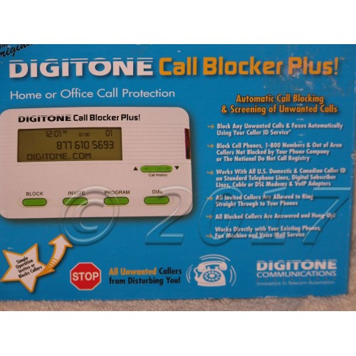 For Sale: Call Blocker Plus!, DCB10, Digitone | Webstore
