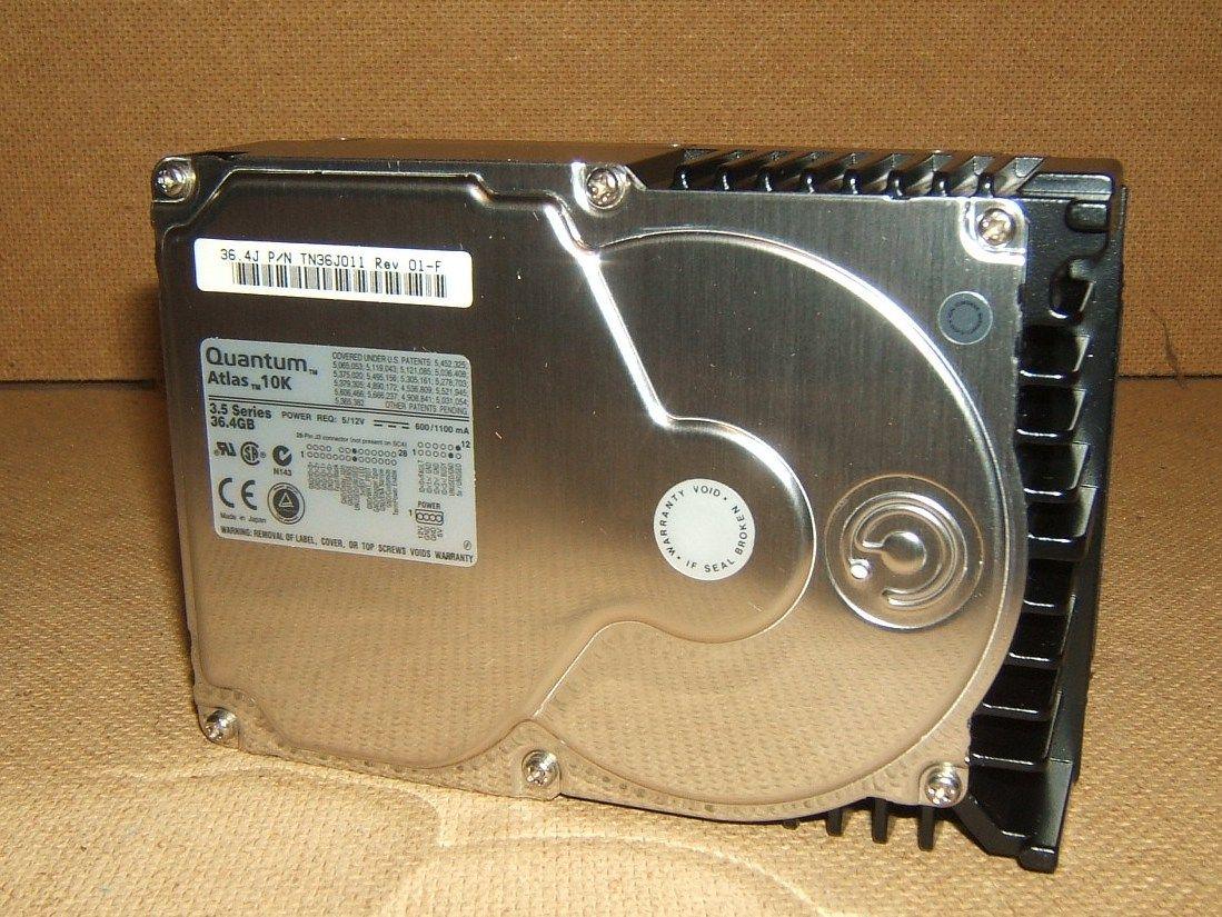 Quantum Hard Drive Ultra160 HDD Atlas 10K 3.5 Series 10000RPM TN36J011
