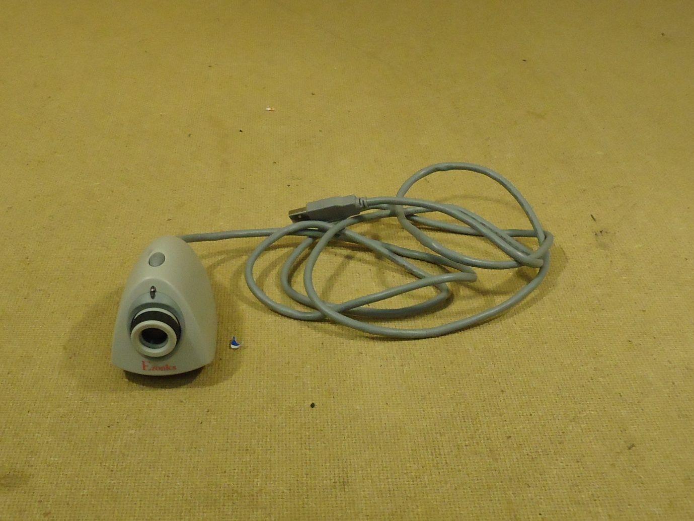 mm1766 101712-588f Ezonics PC Digital Cam 55in Cord Grey USB Plastic