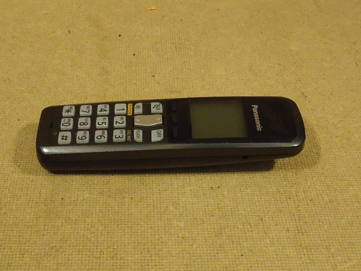 mm1766 101712-652f Panasonic Cordless Handset 6 1/2in x 2in Black/Grey 9DBXA093309 Plastic