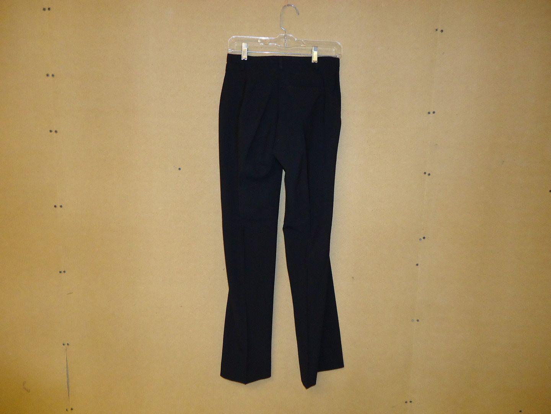 th4952 110212-188t Gap Dress Pants 51% Polyester 44% Wool Female Adult 4 Blacks Solid