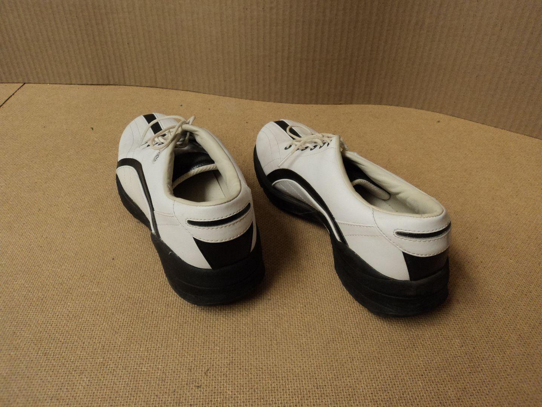 110912-248d Dexter Golf Shoes Black Accents Female Adult 7.5M Whites Solid GF361-2