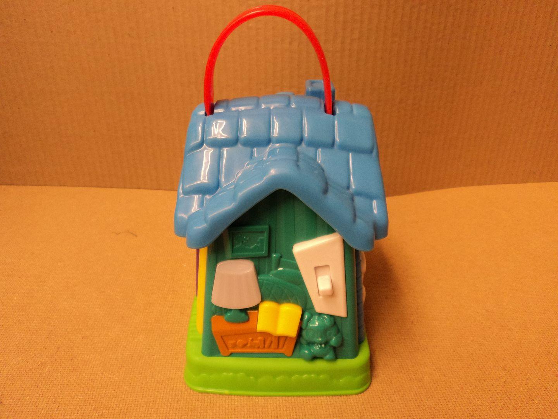 110912-288d Leap Frog My Discover House 5in W x 7 1/2in L x 8in H Multi-Color 19180 Plastic