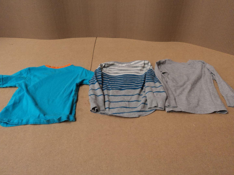 111012-414f Kids Corner George Old Navy 3 Shirts Lot of 3 Male Kids 4T