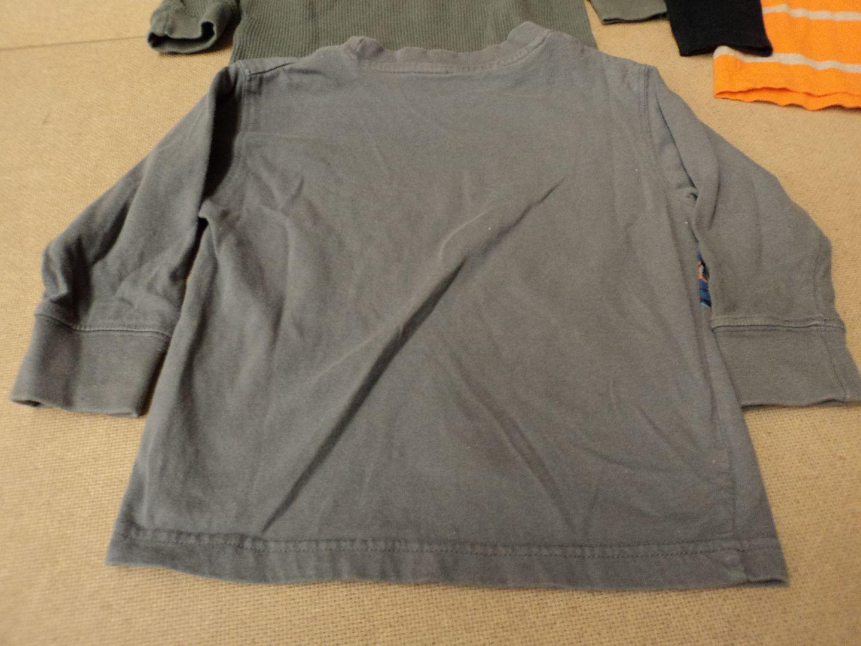 111012-454f Kids Korner Shirts Lot of 3 Cotton 100% Kids 2-4 3T Multi-Color