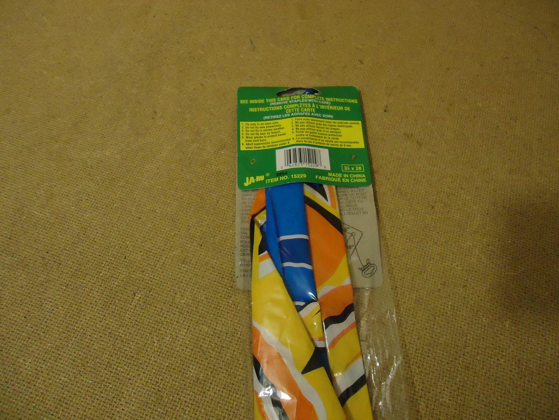 lm7410 111712-190n Krazy Kite Kite with 120ft Nylon Cord Multicolor 15229 Nylon