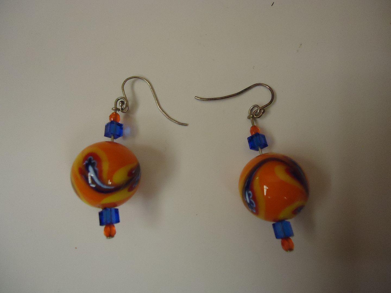 lm7410 120212-816n Designer Fashion Earrings Drop/Dangle Female Adult Multi-Color
