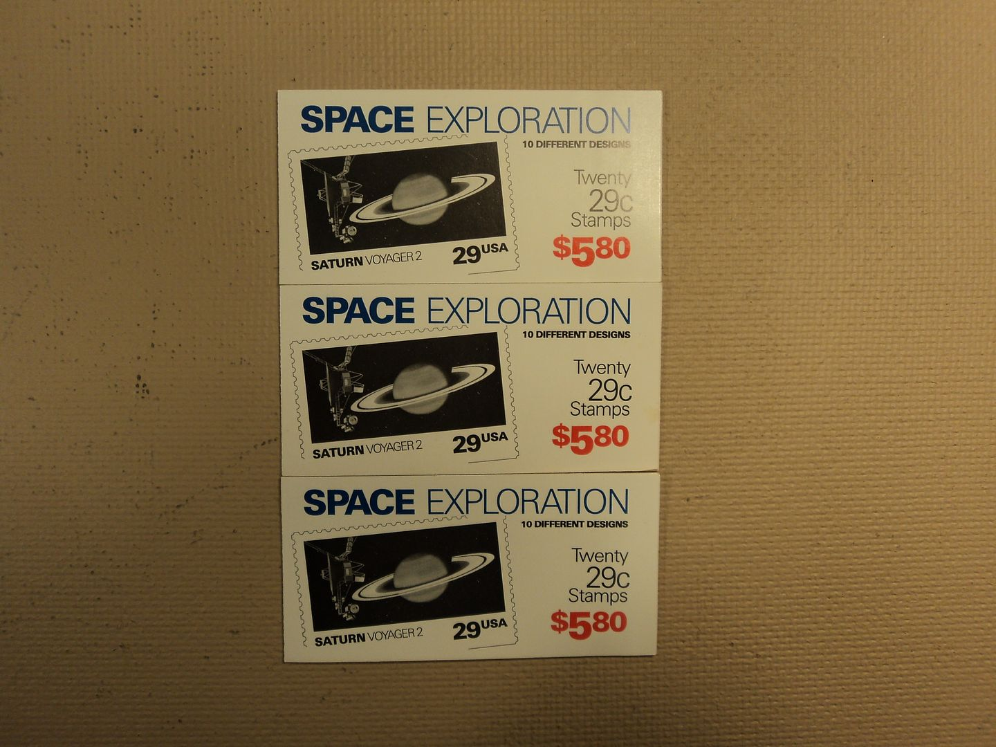 031913-2012c-V USPS Scott 2568-77 29c 1991 Space Exploration 3 Books Of 20 60 Stamps 6 Panes photo DSC02484.jpg