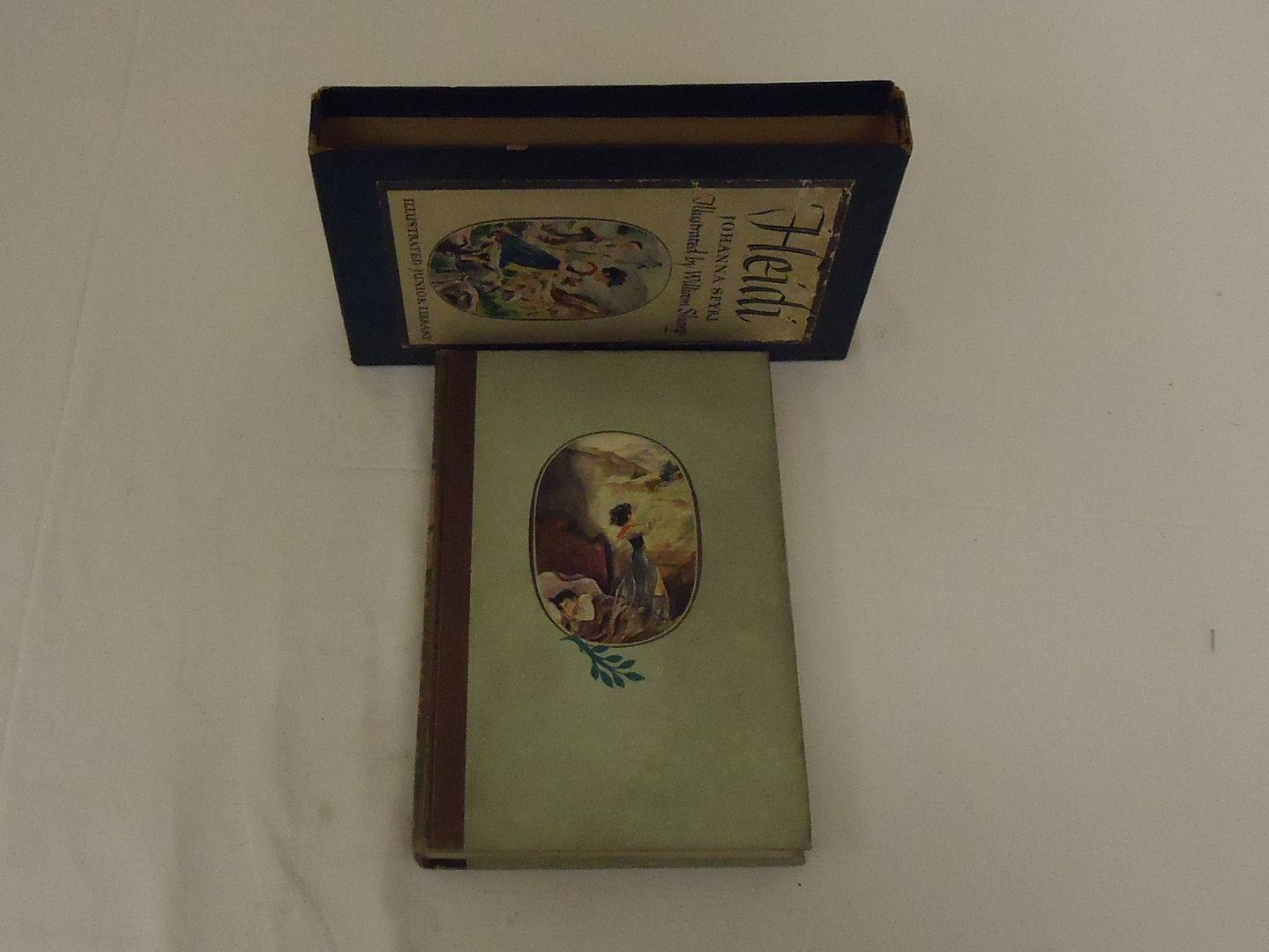 em5188 100212-220m Grosset & Dunlap Inc. Heidi Johanna Spyri Vintage Book Hardcover