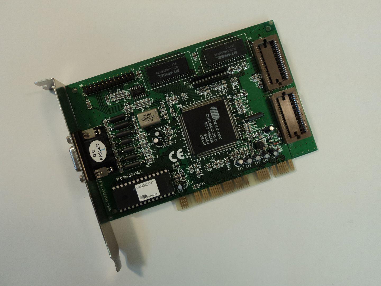 122614-600w Cirrus Logic PCI 5430 Video Card Turbo C CL-GD5430-QC-C photo DSC08777.jpg