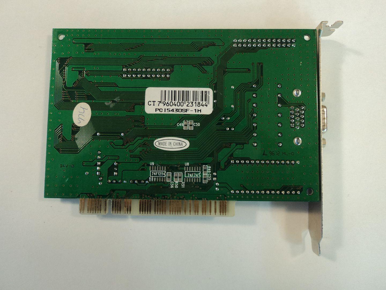 122614-600w Cirrus Logic PCI 5430 Video Card Turbo C CL-GD5430-QC-C photo DSC08779.jpg
