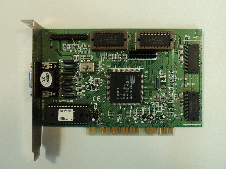 122614-602w Cirrus Logic PCI 5446 Video Card CL-GD5466BV-HC-A photo DSC08783.jpg