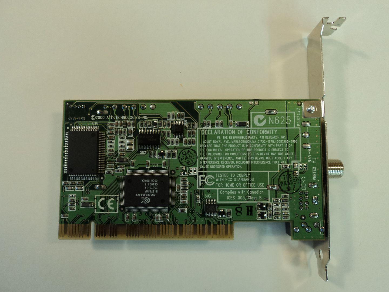 122614-612w ATI Technologies PCI TV Tuner Video Card 109-68300-21 photo DSC08811.jpg