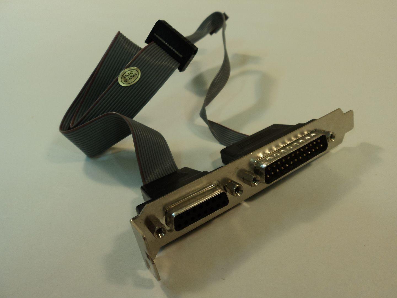 122614-690w Standard Motherboard Adapter DB-25 Male DA-15 690-122614 photo DSC09019.jpg
