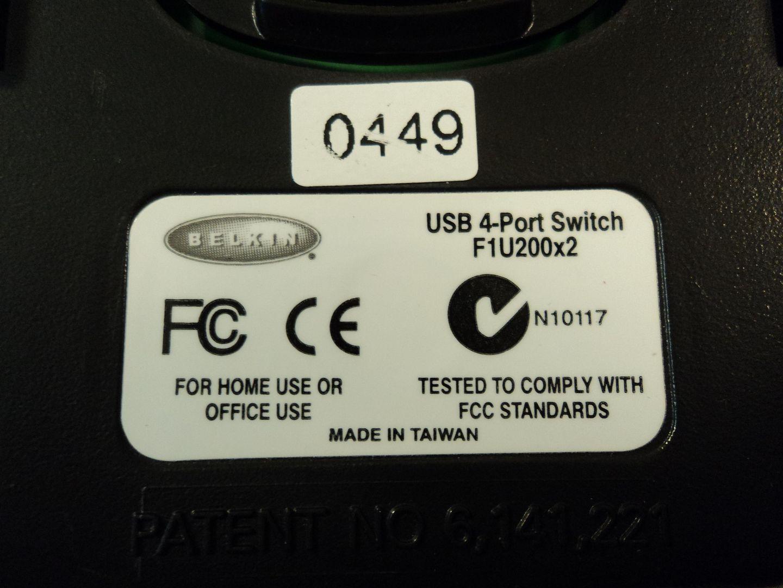 122714-796c Belkin USB 4 Port Auto Switch Box F1U200x2 photo DSC09495.jpg