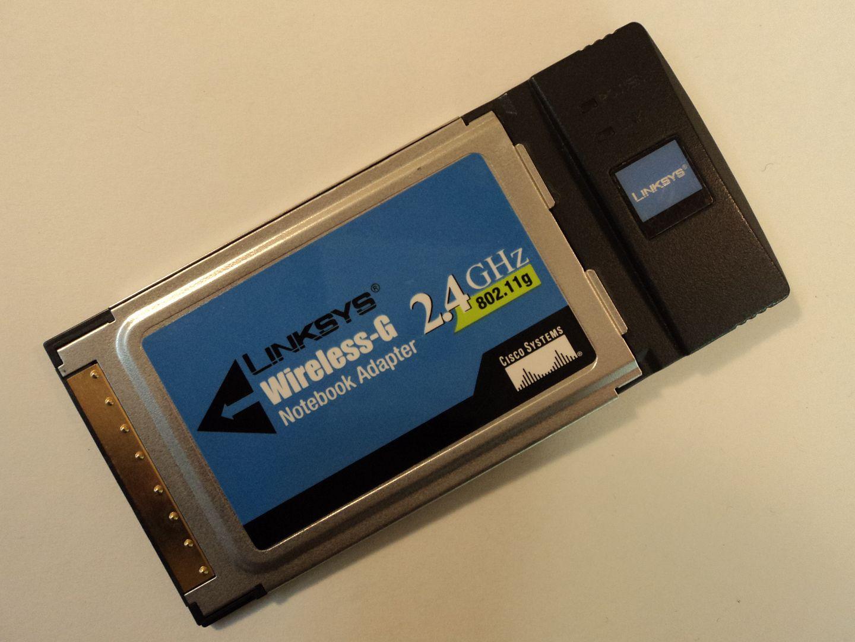 122714-836c Linksys Wireless G Notebook Adapter 2.4GHz WPC54G V3 photo DSC09612.jpg
