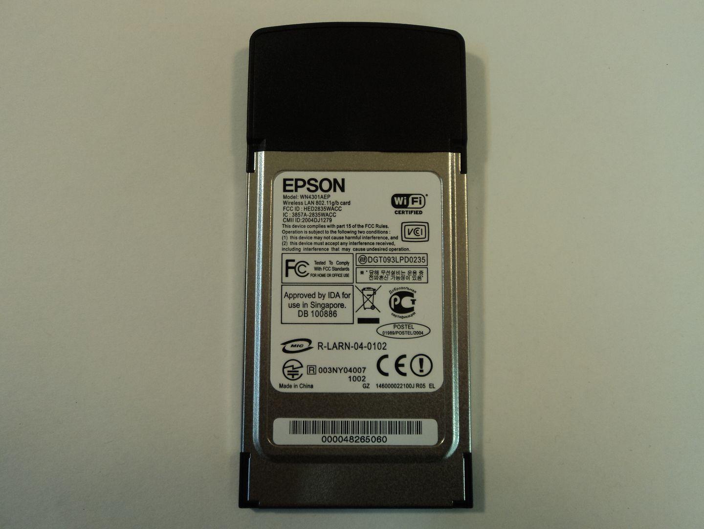 122714-840c Epson Wireless LAN Card 802.11g 802.11b WN4301AEP photo DSC09629.jpg
