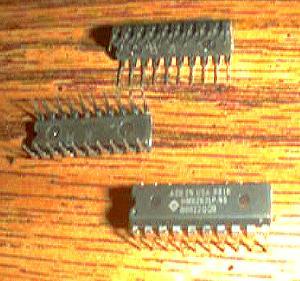Lot of 18: Hitachi HM6267LP-45 Pic 2